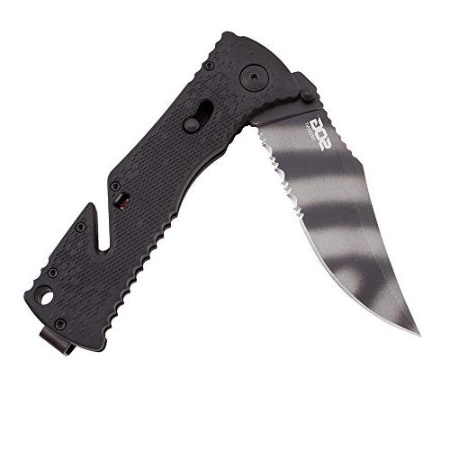 """SOG Assisted Knife TF3-CP 3.75"""" GRN Handle"""