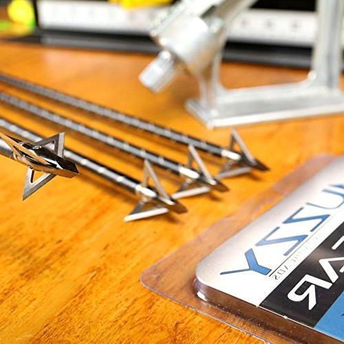 Muzzy 225-MX3-3, 100 Grain, 3 Broadhead, Cutting 3 Pack