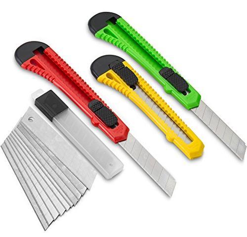 utility knife cutter retractable razor