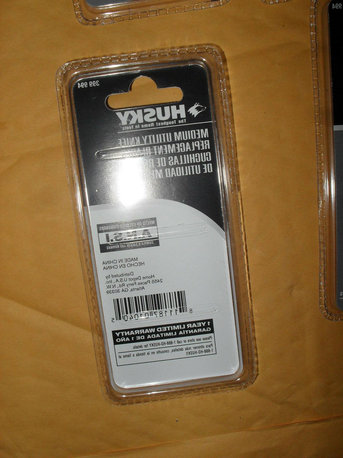 HUSKY Knife Replacement 6 Pack 5