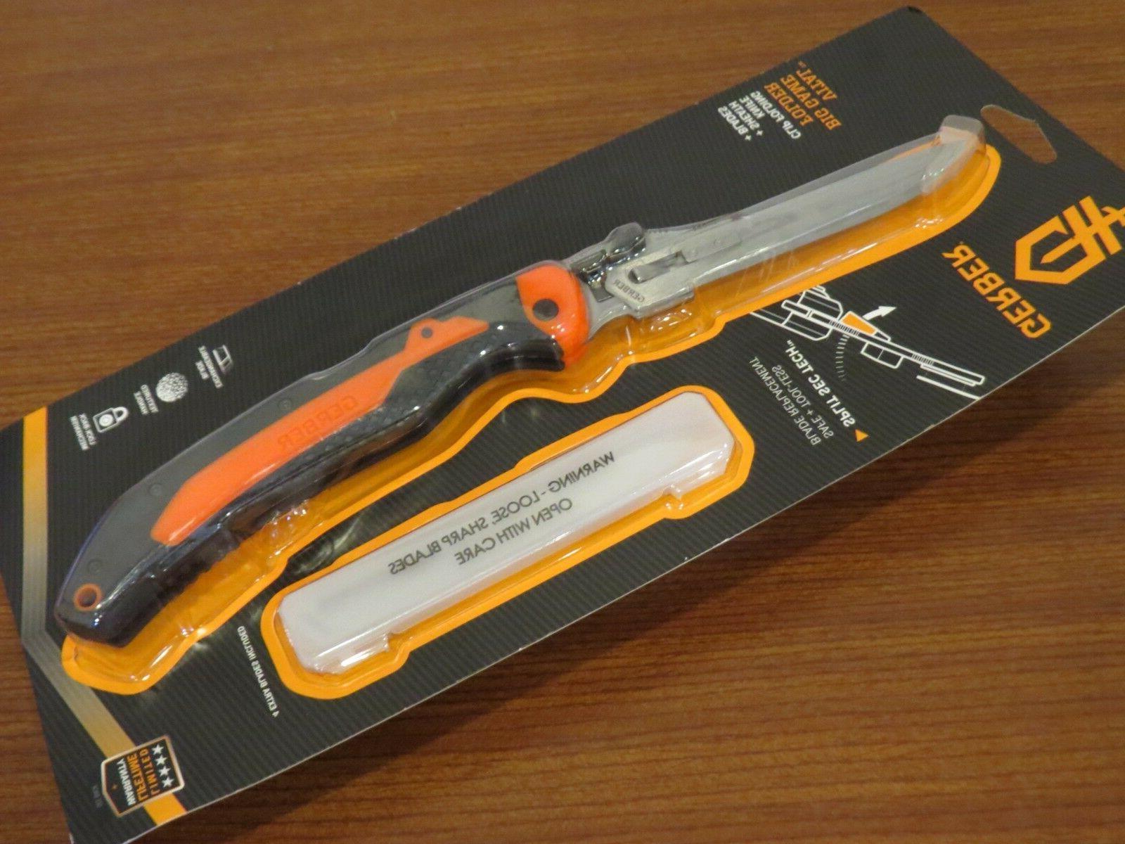 vital big game folder pocket knife w