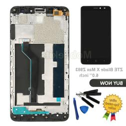 LCD Display Touch Digitizer With Frame Replacement For ZTE B