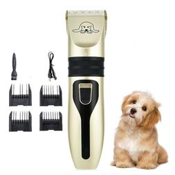 Low Noise Pet Dog Cat Grooming Clipper Hair Trimmer Electric