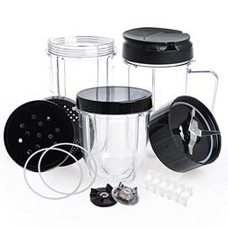 QueenTrade Magic Bullet Replacement Cups, Replacement Cups &