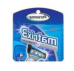 Personna Matrix3 Titanium Triple Blade Refill Cartridge Blad