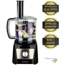 Ovente Mini Electric Food Processor and Chopper, 3-Cup Capac