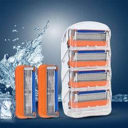 New 12Pcs Generic Replacement Shaving Blades Razor For Gille