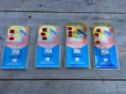 """NEW 4 PACKS OF SONIC HEADS 7/8"""" REPLACEMENT BLADES FOR 75 &"""