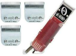 New Oster Classic 76 Hair Clipper 3-Blades: 000+1+ 2