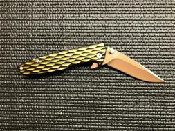 Gerber One Flip Green Aluminum Flipper Folding Pocket Knife