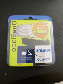Philips Norelco - Oneblade Replacement Blades  - Green/silve