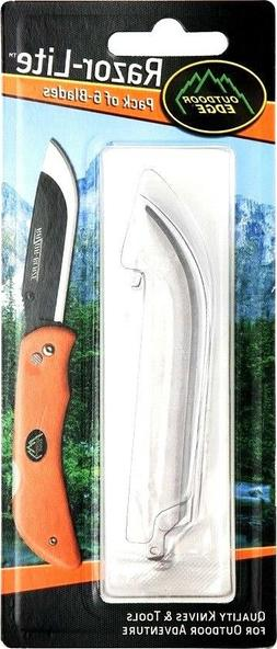 """Outdoor Edge Razor-Lite Replacement Blades All 3.5"""" models"""