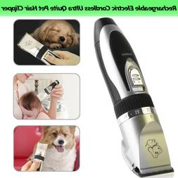 Pet Cat Dog Fur Hair Low-noise Remover Professional Clipper/