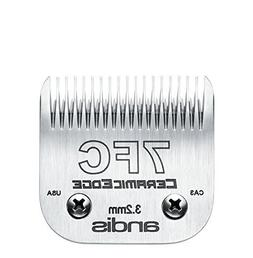 Andis CeramicEdge Carbon-Infused Steel Pet Clipper Blade, Si