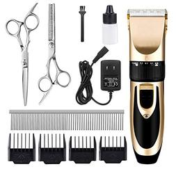 DIGDAN Pet Hair Clippers, Professional Pet Grooming Kit with