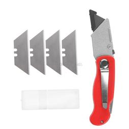 Practical Folding Utility Knife For Paper Plastic Cutting Wi