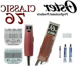 OSTER  Professional Classic 76 Hair Clipper + T-Finisher Tri