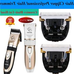 Professional Mute Pet Cat Dog Fur Hair Cordless Trimmer Clip