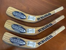QTY 3 BAUER 1000 Supreme Kevlar HOCKEY STICK REPLACEMENT BLA