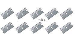 10 Pack Razor Blades-Replacement Razor Blades Single Edge- H