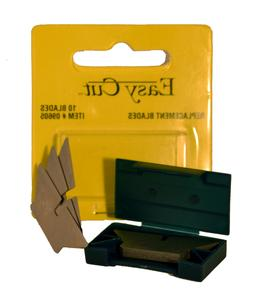 Easy Cut 10 Count Standard Replacement Blades Series
