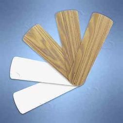 "Replacement Blades for 38"" - 42"" Ceiling Fan 5/pk Weathered"