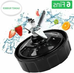Replacement For Nutri Ninja Blender 6 Fins Extractor Bottom