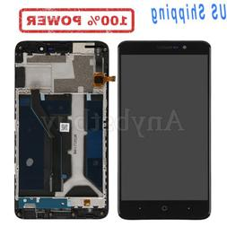 Replacement LCD Screen Touch Digitizer +Frame For ZTE Blade