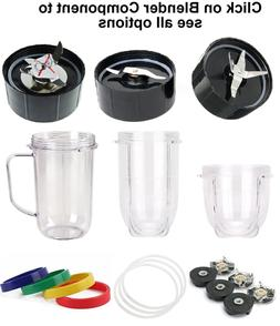 Replacement part,Compatible with MagicBullet,Blade, Gasket,