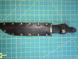 "Replacement Sheath 10"" X 1.5"" Blade Knife Handmade Leather"