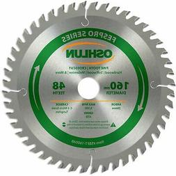 Oshlun SBFT-160048 160mm 48 Tooth FesPro Crosscut ATB Saw Bl