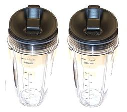 Sduck Replacement Parts for Nutri Ninja Blender, Regular Two