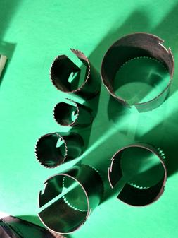 six 6 replacement blades for hole saw