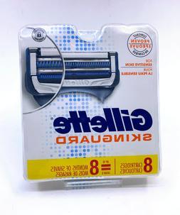 Gillette Skinguard Refill Replacement Razor Blades 8 Count
