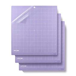 Nicapa Strong Grip-Purple Cutting Mat, 12 by 12-inch