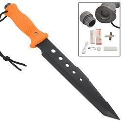 Tactical Outdoor Deviant Edge Tanto Survival Hunting Knife