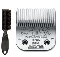 Andis Ultra Edge 3 3/4FC Clipper Blade with a Blade Brush