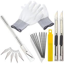 Wekoil Utility Knife Blades Art Craft Box Cutter Set :Precis