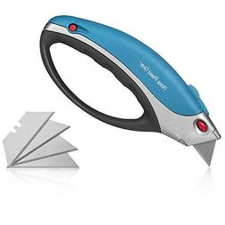 Box Cutter Utility Knife - All Purpose, Retractable Multi-Po