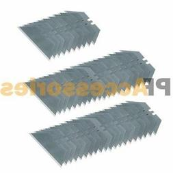 50 Pcs Utility Knife Razor Blade Refill Replacement Double S