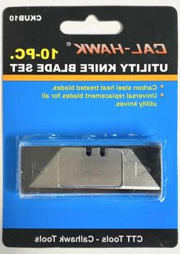 10 pc Utility Knife Razor Box Cutter Blade