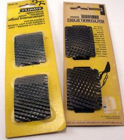 Vintage NOS Stanley Surform Shaver Replacement Blades #21-51