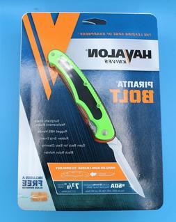 Havalo XTC-60ABOLT-GX Piranta Bolt Flourescent Green ABS 2 3